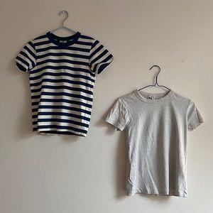 2 for 1 Uniqlo U Crew Neck Short Sleeve T-Shirt